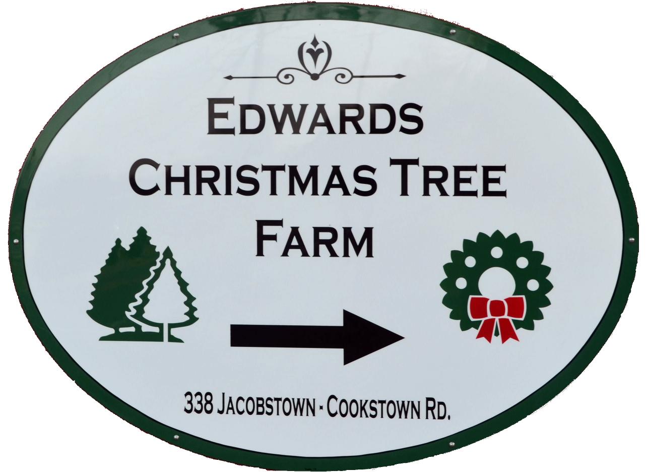 Christmas Tree Farm Logo.Edwards Christmas Tree Farm
